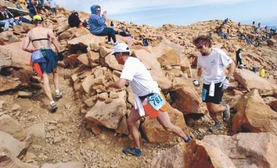 Pike's Peak Ascent, Running at Elevation, 13.1, Trail Running , 16 Golden Stairs