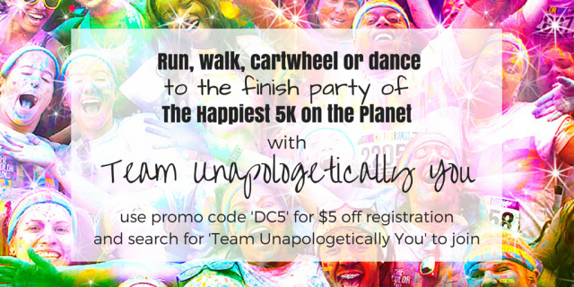 Runner Life, The Color Run, Happiest 5K, We Shine