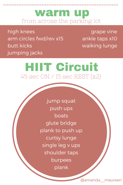 Boot Camp, Workout, HIIT