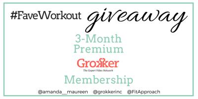 Grokker, Giveaway, Online Workout, Fitness