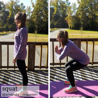 Workout Wednesday, Leg Workout, HIIT, squat
