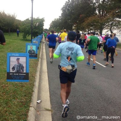26.2, Marathon, Marine Corps Marathon, Race Recap, Run with the Marines, running, The Blue Mile, Wear Blue to Remember