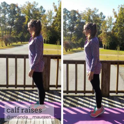 Workout Wednesday, Leg Workout, HIIT, Calf Raises