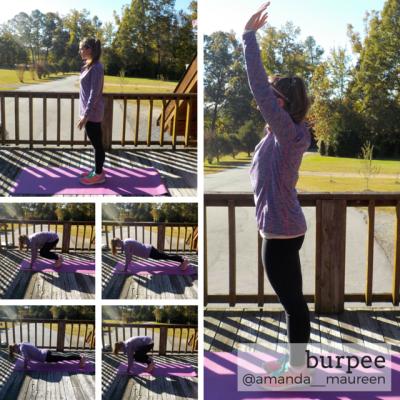 Workout Wednesday, Leg Workout, HIIT, Burpee