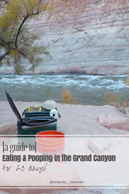 Eating & Pooping in the Grand Canyon